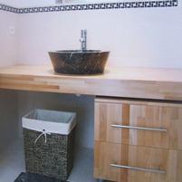 Tiles - Sink - Basins - Floor - Indoor - Outdoor - Kitchen Bathroom - Salernes en Provence
