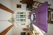 Table lave émaillée lilas moyen